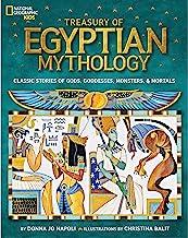 Treasury of Egyptian Mythology: Classic Stories of Gods, Goddesses, Monsters & Mortals