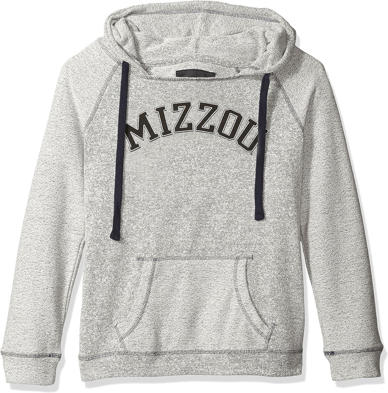 Camp David NCAA Horizon Damen Rückseite Sleeve und Pocket Kapuze, Damen, Horizon, Pepper Charcoal, XX-Large