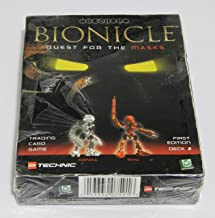 LEGO Bionicle: Quest for The Masks, Trading Card Game. Kopaka/Tahu, First Edition, Deck 2