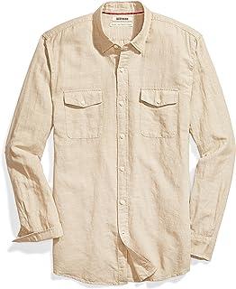 Goodthreads Men's Standard-Fit Long-Sleeve Linen and...