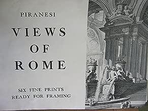 Piranesi Views of Rome Six Fine Prints Ready for Framing