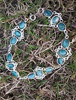 Emerald Bracelet, 925 Silver Bracelet, Tennis Bracelet, Boho Bracelet, Hippie Jewelry, Promise Bracelet, Party Wear Bracelet, Fashionable Bracelet, Feminine Bracelet, Gift For Christmas Day