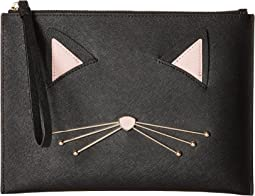 Cat's Meow Cat Medium Bella Pouch
