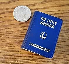 Langenscheidt Lilliput Webster, English Dictionary: The Little Webster.