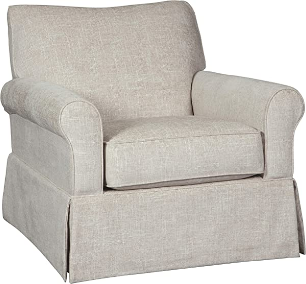 Ashley Furniture Signature Design Searcy Swivel Glider Accent Chair Quartz