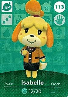 Nintendo Animal Crossing Happy Home Designer Amiibo Card Isabelle (Winter) 113/200 USA Version
