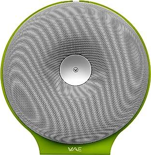 Hercules WAE Wireless Portable Speaker – White/Green, BTP02