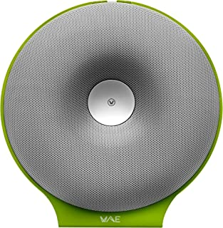 Hercules WAE Wireless Portable Speaker – White/Green, BTP02