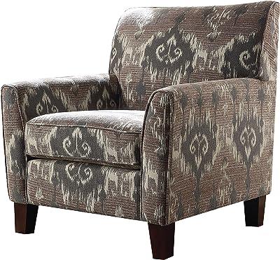 Amazon.com: Silla con asiento acolchado, diseño de hojas ...