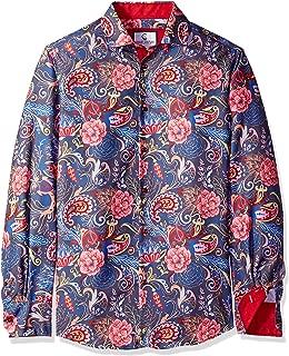 Men's Long Sleeve Dress Shirt Casual Button Down Slim Fit