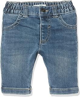 United Colors of Benetton Baby-Jungen Salopettes Gonna Jeans Denim Bottoni Latzhose
