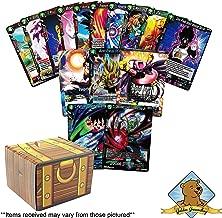 Dragon Ball Super Lot of 200 Cards! 3 Rares - 2 Super Rares! Includes Golden Groundhog Treasure Chest Box!