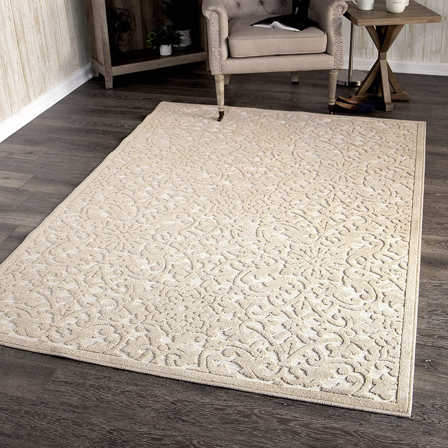 Orian Rugs Boucle Industry No. 1 Collection 394306 Indoor High-Low Bisc Outdoor Ranking TOP20