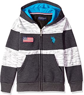gray american flag hoodie