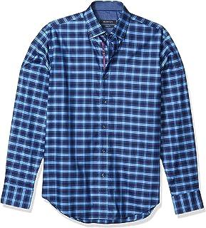 Bugatchi Men's Long Sleeve Shaped Fit Shirt