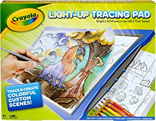 Crayola Newest Model Light Up Tracing Pad - Blue -Bright LED Power in an Ultra Thin Tablet