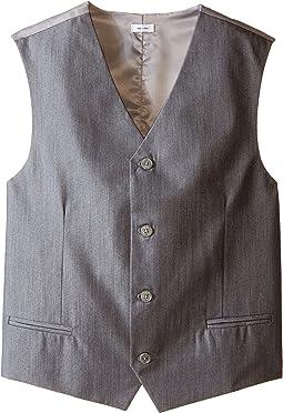 Iridescent Twill Vest (Big Kids)