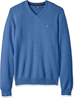 Men's Premium Essentials Solid V-Neck 12 Gauge Sweater