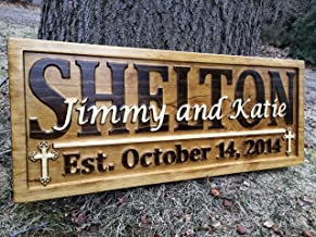 Upper Peninsula Wood Sign Engraved City Family Name Sign Custom Engraved Upper Peninsula Sign Custom Wood Signs Upper Michigan Decor