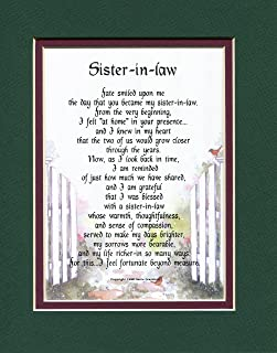 A Gift Present Poem for A Sister-in-Law Birthday #91
