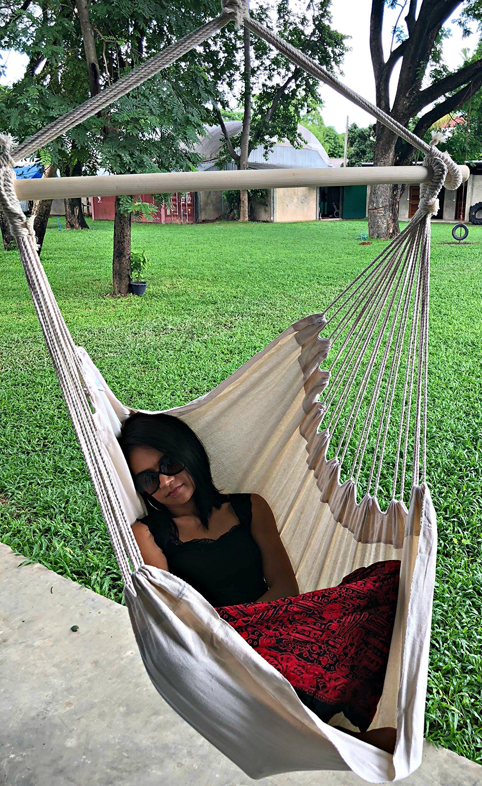 Large Brazilian Hammock Chair Sky