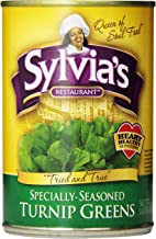 Sylvia's Turnip Greens, 14.5-Ounces Packages (Pack of 12)