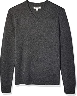 Amazon Brand - Goodthreads Men's Lambswool V-Neck Sweater