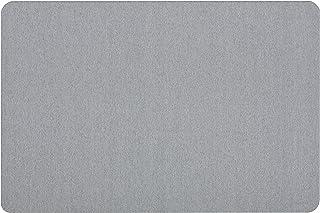 Quartet Fabric Bulletin Board, 3' x 2', Frameless, Oval Office, Light Blue (7683BE)