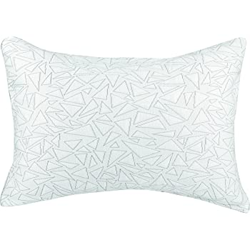 Fits Standard to Queen Pillow White Levinsohn Textiles FRE161XXWHIT10 Levinsohn Cooling Pillow Cover Soft and Comfortable Hypoallergenic with Mesh