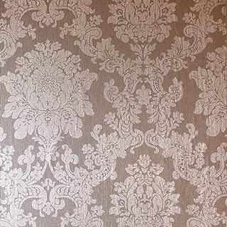 arthouse foil damask rose gold wallpaper
