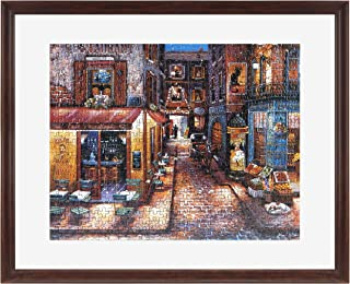MCS 26x32 Inch Puzzle Frame for Puzzle Sizes 24x30 Inch & Smaller, Walnut (65741)