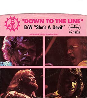 bachman turner overdrive down to the line