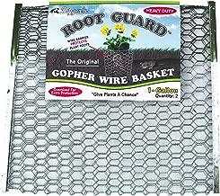 RootGuardTM The Original Heavy Duty Gopher Wire Baskets (12 1-Gallon Baskets)