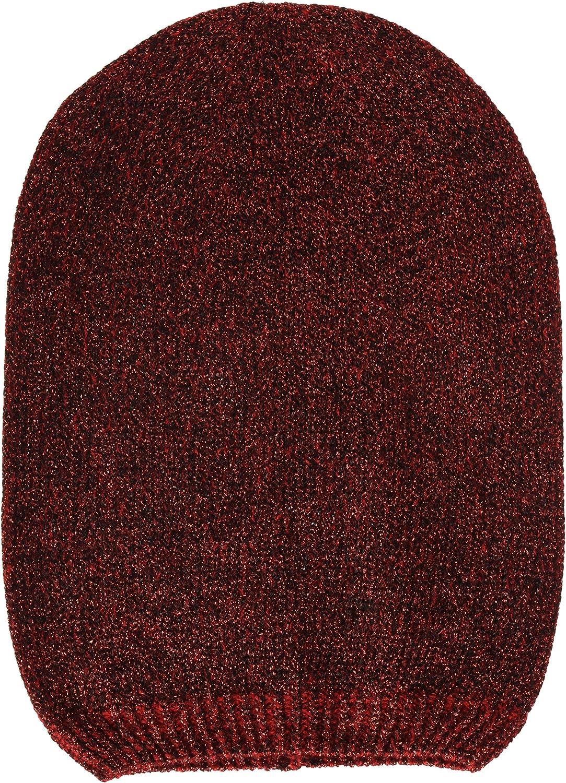 Steve Madden Women's Solid Lurex Oversized Beanie