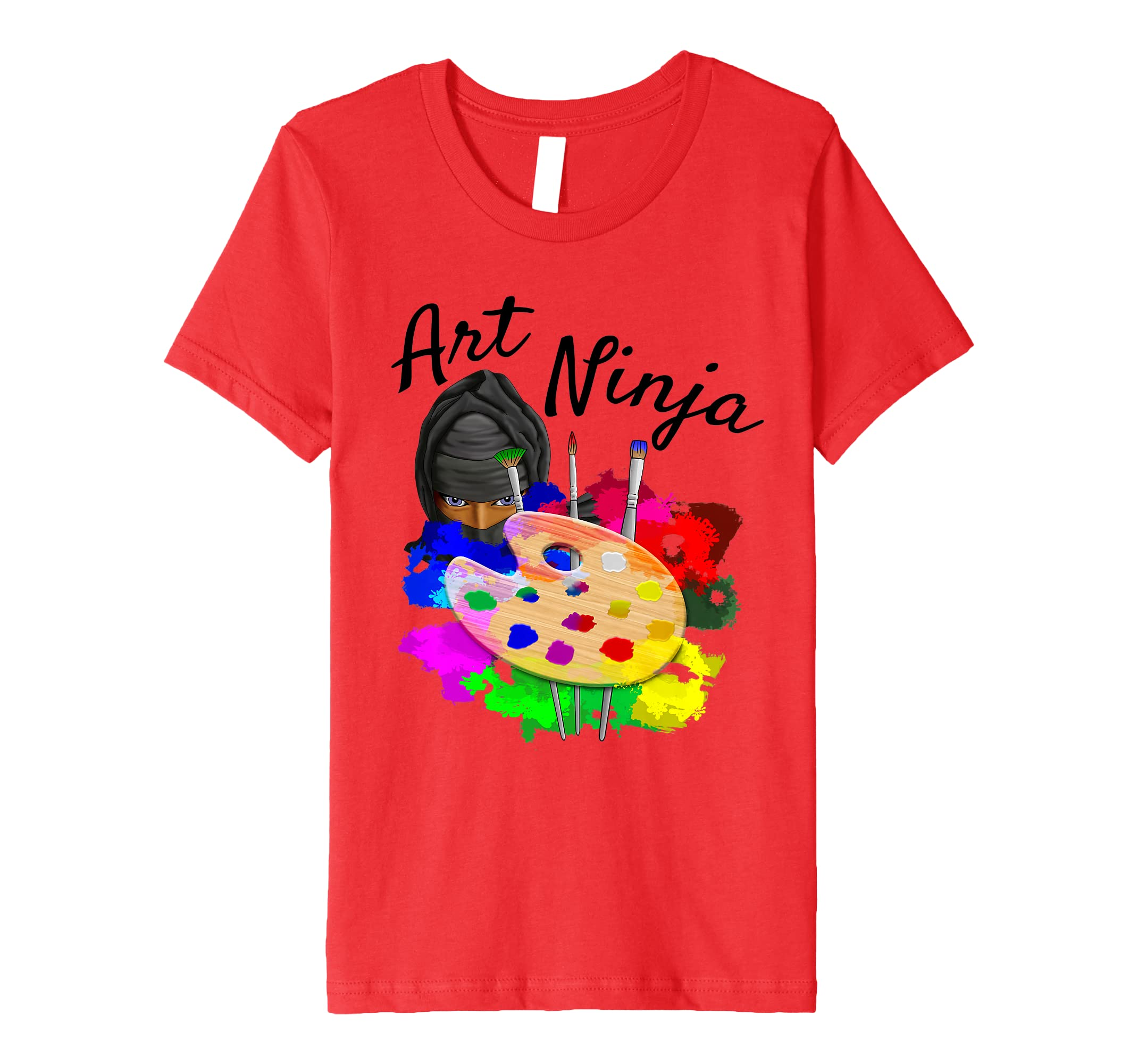 Amazon.com: Art Ninja Artist T-Shirt: Clothing