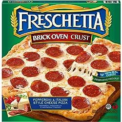 Freschetta, Pepperoni & Italian Style Cheese Brick Oven Pizza 22.7 oz ( Frozen)