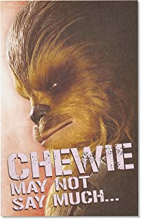 American Greetings Valentine's Day Card for Kid (Star Wars, Chewbacca)