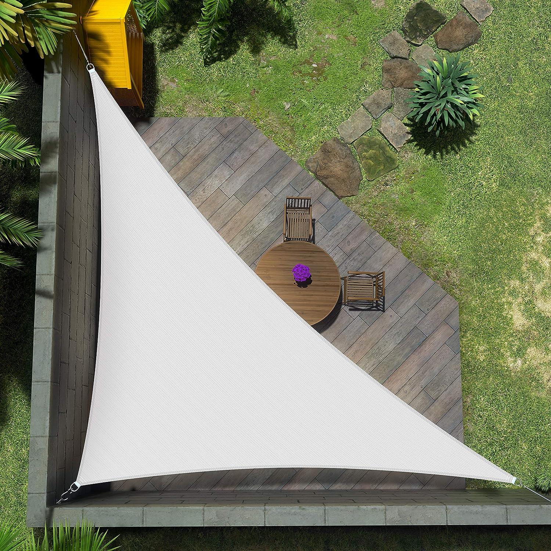 Amgo Custom Size 14' 新品未使用正規品 x 23' 激安価格と即納で通信販売 Shad White Right Triangle Sun 26.9'