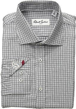Minh Check Long Sleeve Dress Shirt