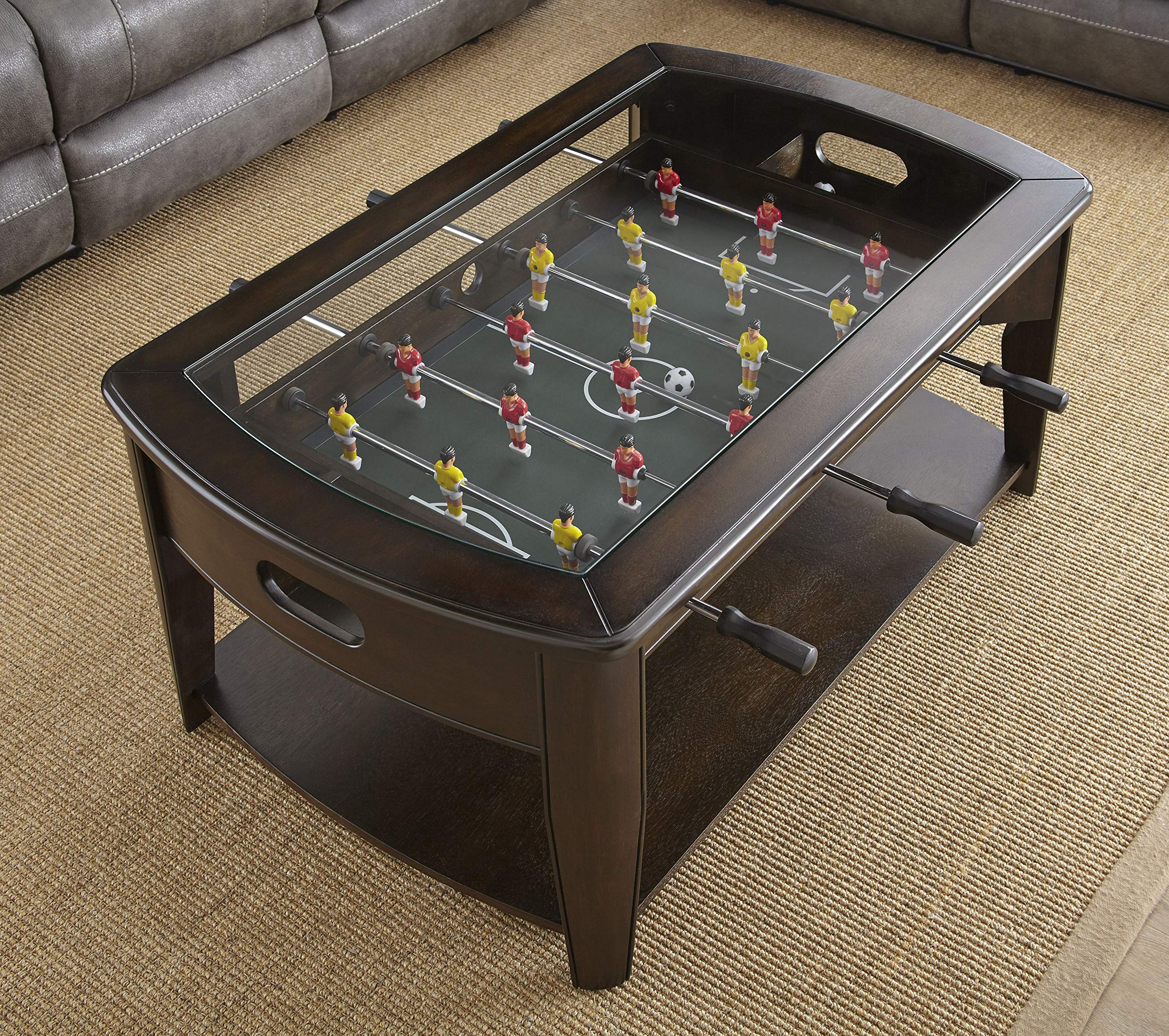 Steve Silver Cocktail Table along with Foosball