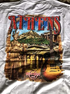 Hard Rock Cafe New HRC Athens (Greece) City Tee White T-Shirt