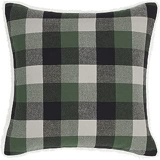Eddie Bauer Finley Plaid Throw Pillow, Dark Green