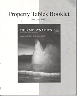 Thermodynamics: An Engineering Approach, 4th Edition, PROPERTY TABLES BOOKLET