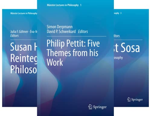 Münster Lectures in Philosophy (6 Book Series)