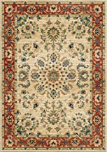 "product image for Orian Rugs Mardi Gras Promenade Area Rug, 5'3"" x 7'6"", Ivory"