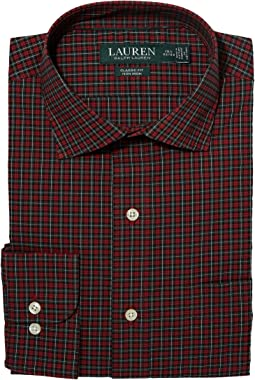 LAUREN Ralph Lauren - Non-Iron Holiday Poplin Classic Fit Dress Shirt