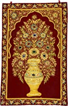 BLH Cashmere Rug - 20.28 inches x 16.77 inches x 0.2 inches, Maroon