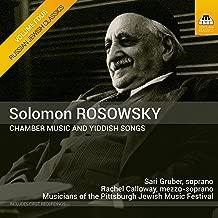 Russian Jewish Classics, Vol. 4: Rosowsky – Chamber Music & Yiddish Songs