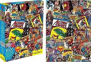 Aquarius DC Comics Superman Collage 1000 Piece Jigsaw Puzzle