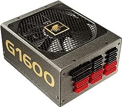 LEPA G Series1600W 80+ Gold Certified Full Modular ATX12V/EPS12V Power Supply SLI and CrossFire Ready 180mm (G1600-MA)
